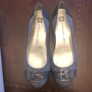 Anne Klein shoes -Gray